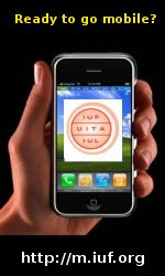 Click here to see the IUF website for small screens such as mobile phones and PDAs.